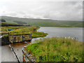 SD9910 : Castleshaw Upper Reservoir by David Dixon