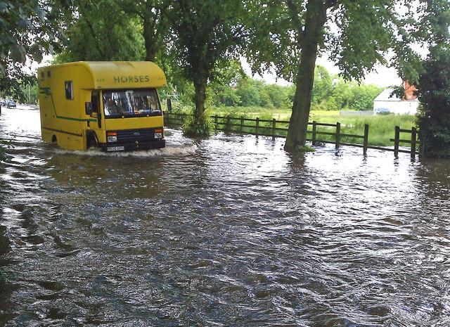 Flooding Along Braunstone Lane East 169 Mat Fascione