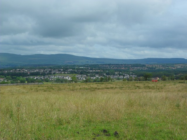View across Condorrat and Balloch