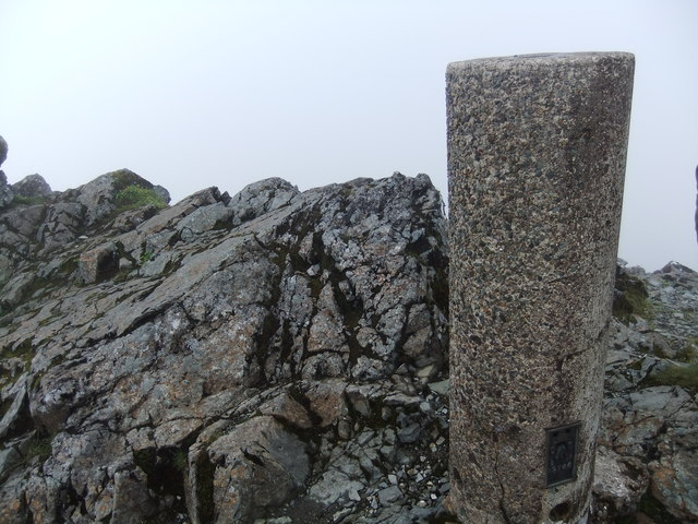 Trig pillar - summit of Bruach na Frithe