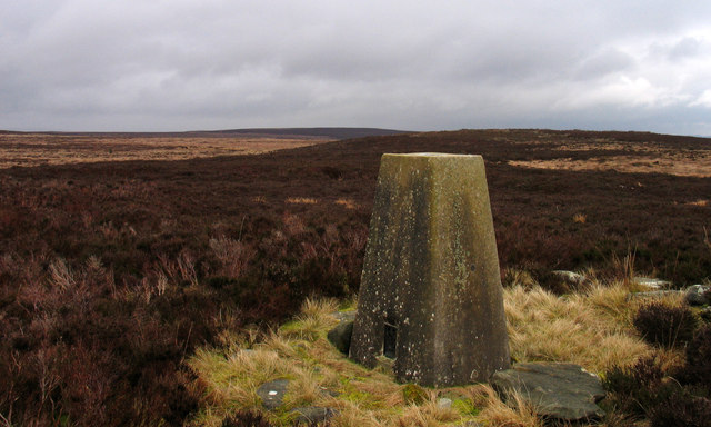 Trig point of Blackmoor Skirt