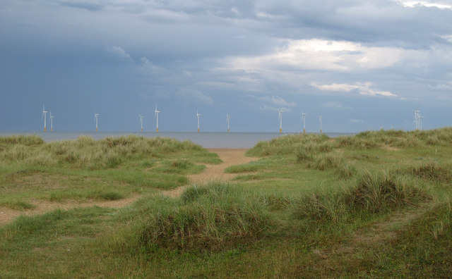 North Denes and Offshore wind farm