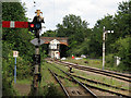 TG4102 : Semaphore signals by Roger Jones