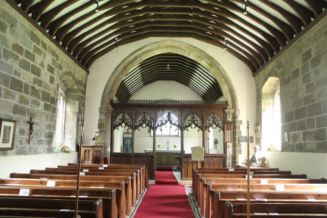 Interior, St Leonard's Church, South Cockerington