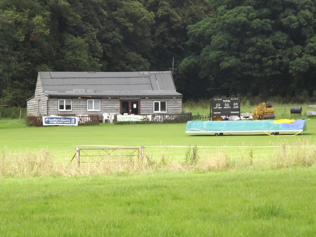 Cricket ground, Tichborne Park