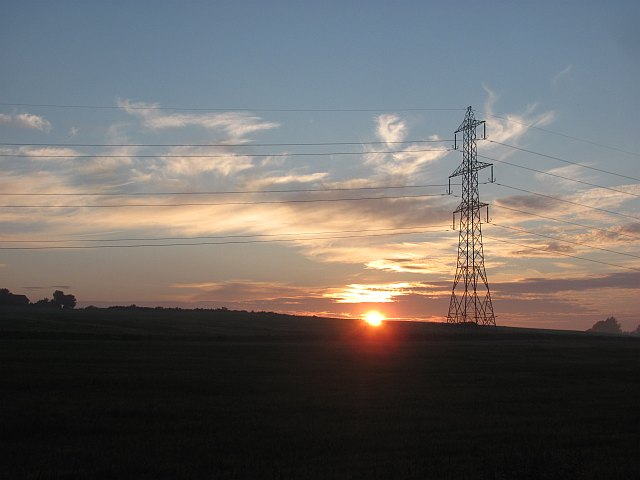 Sunset, North Balnakettle