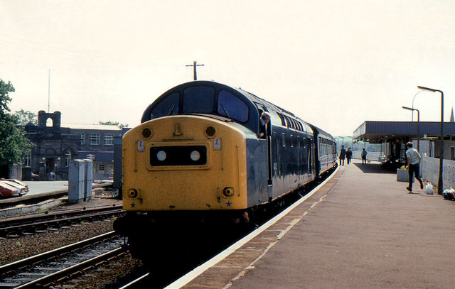 Class 40, Kirkcaldy