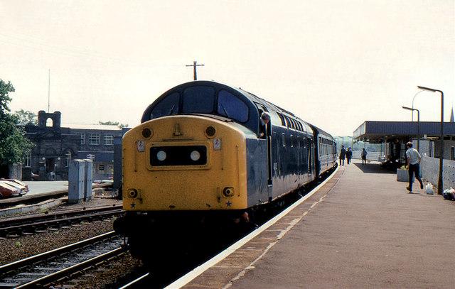 Class 40, Kirkcaldy