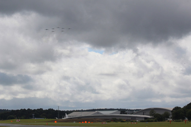 The Breitlings, Farnborough Air Show 2012
