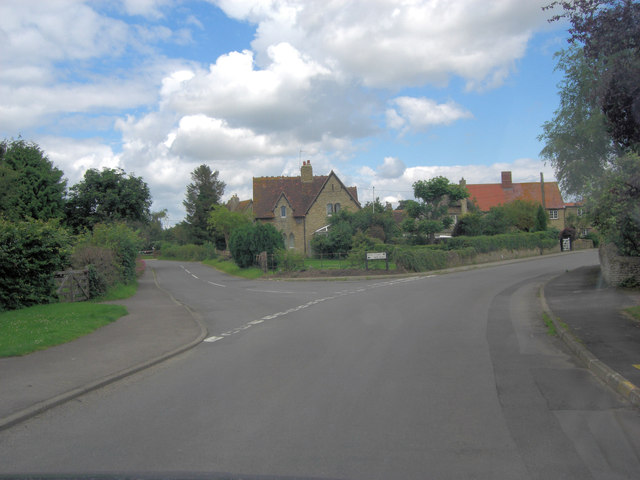 Main Street junction with New Road