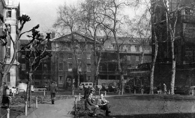 Guy's Hospital: the 'Park', March 1948