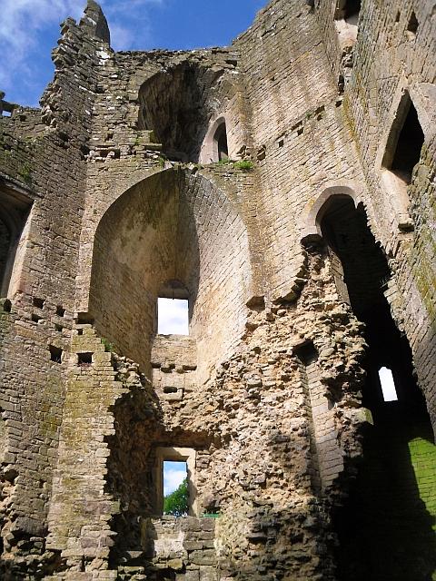 Interior, Nunney Castle