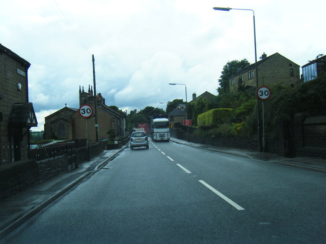 A628, Church Street, Tintwistle