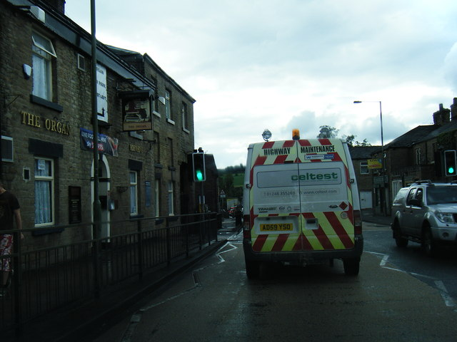 A628 Market Street, Hollingworth
