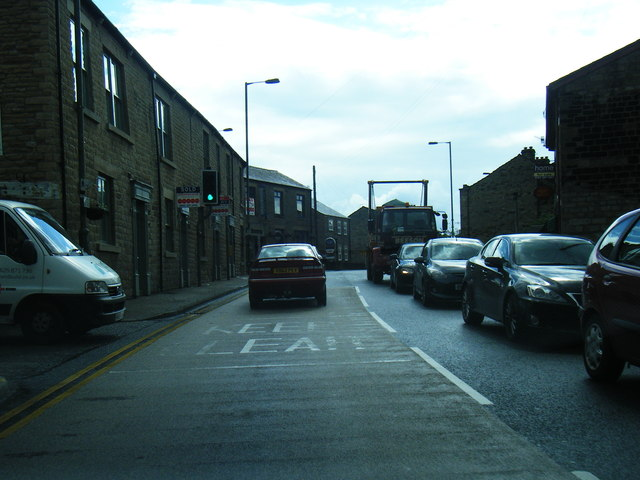 A57 westbound at Mottram Moor