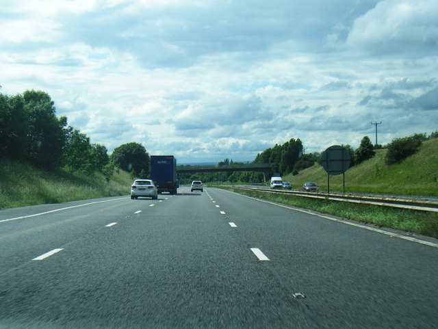 M67 westbound near Longlands