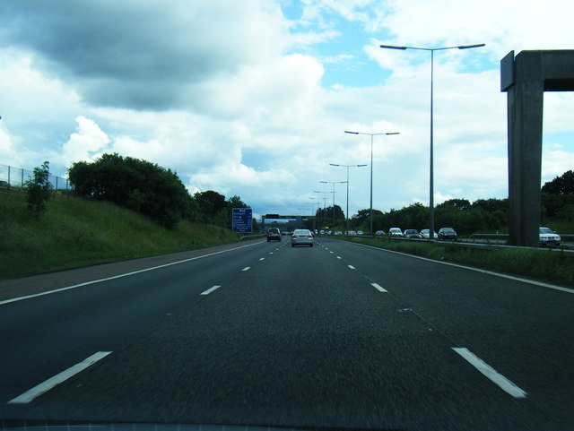 M60 clockwise at Denton