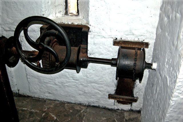 Bunratty Castle - Drawbridge Mechanism © Joseph Mischyshyn ...