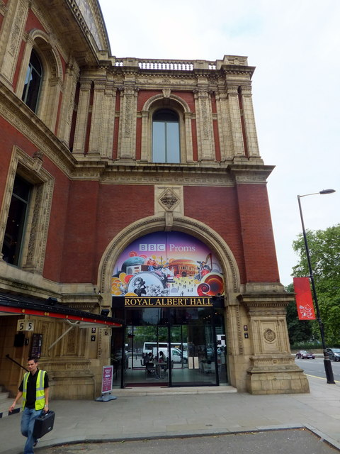 Front Entrance to The Royal Albert Hall