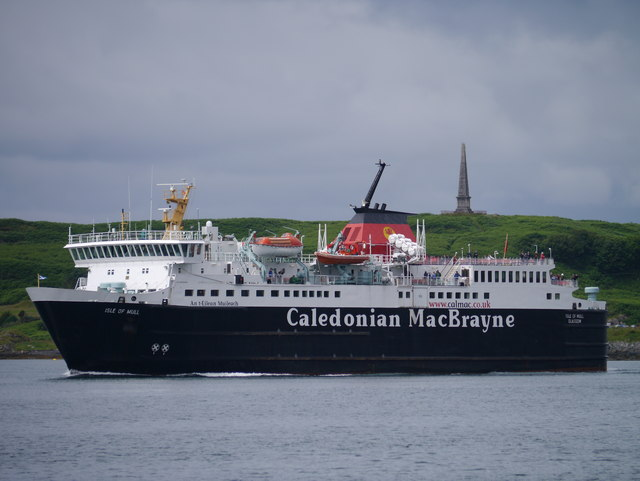MV Isle Of Mull Passing Hutcheson's Monument