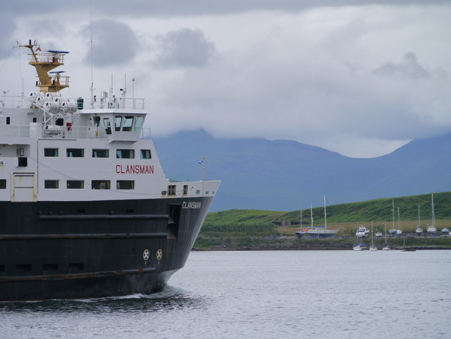 MV Clansman In Oban Bay