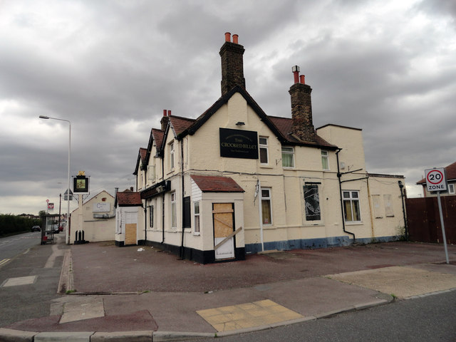 The Crooked Billet Public House Chadwell Heath