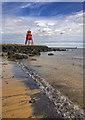 NZ3668 : Groyne Lighthouse : Week 29