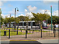 SD3347 : Fisherman's Walk Tram Stop, Fleetwood by David Dixon