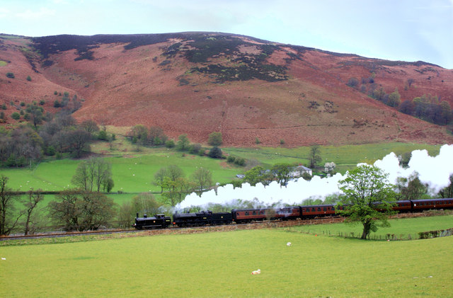 Steam Train, Llangollen Railway