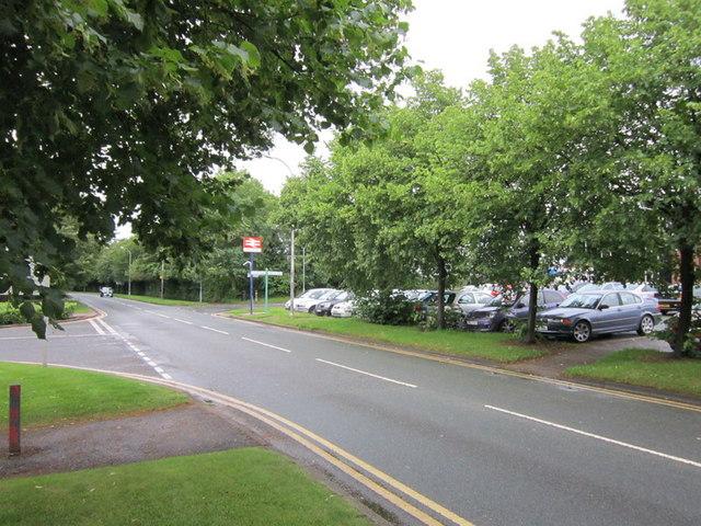 Dewhurst Road near Birchwood rail station