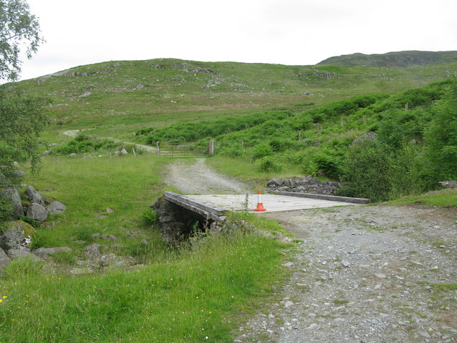 Bridge over the Invergeldie Burn