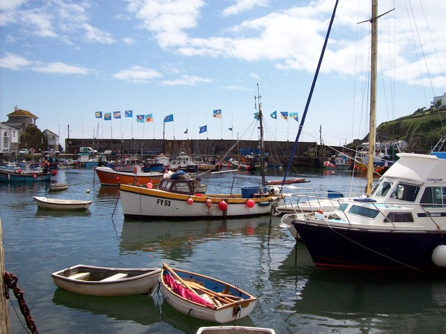 2012 Harbour decorations, Mevagissey