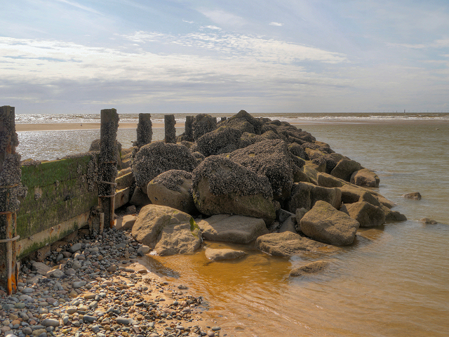 Rocks at the End of the Groyne