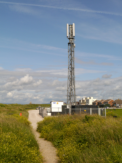 Mobile Phone Mast at Rossall