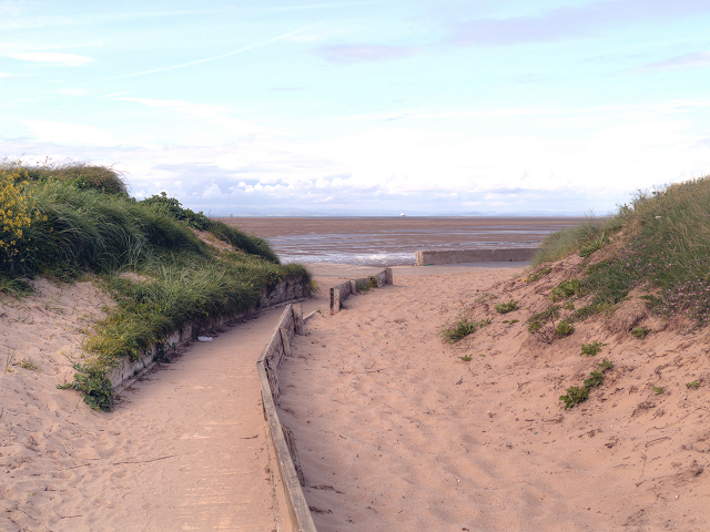 Path at Rossall Open Space