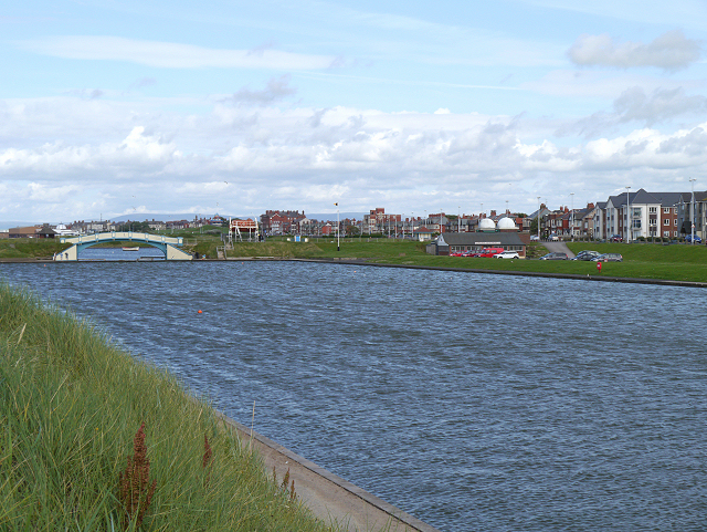 Marine Gardens Lake, Fleetwood