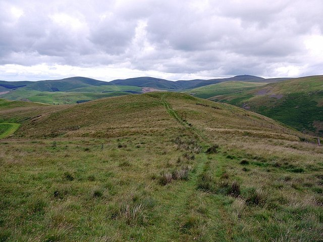 Camp Tops from north side of White Knowe