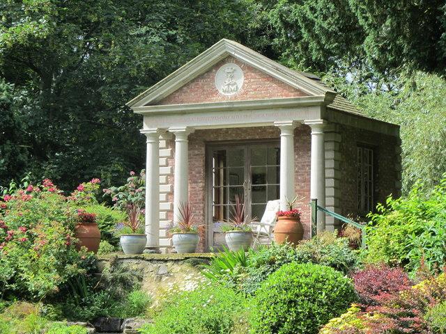 Bodrhyddan Hall Summerhouse 169 Paul Brooker Cc By Sa 2 0