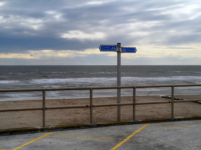 Promenade and Sea Front at Rossall