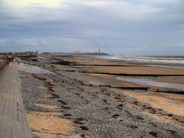 Beach at Rossall