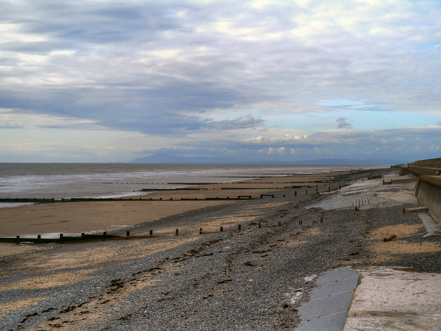 The Beach at Rossall View