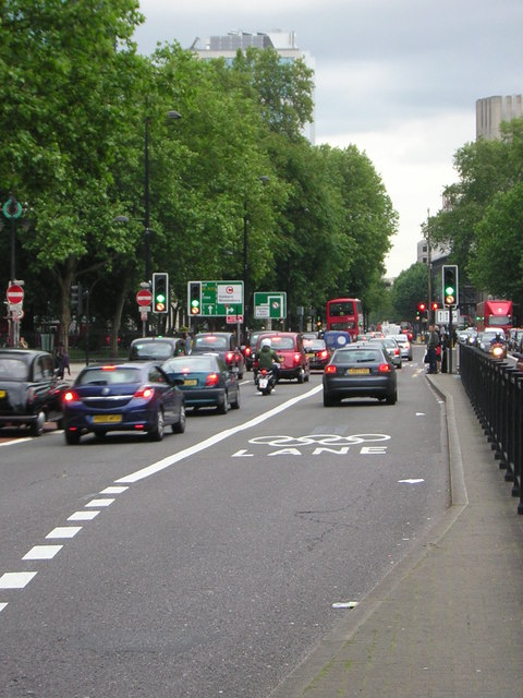 Olympic Route Network: Games Lane, Euston Road NW1