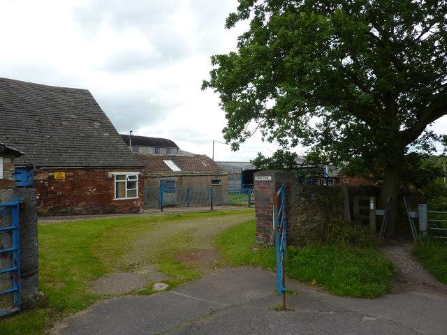 Gateway to Lodge Farm