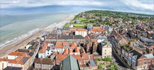 View from the Tower of Church of St Peter and St Paul, Cromer
