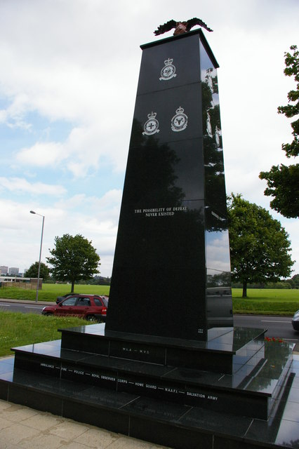 RAF memorial, Purley Way, Croydon