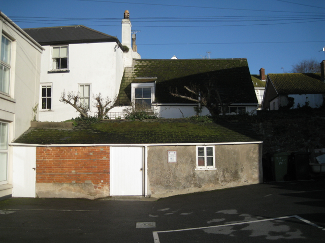 Huntings Yard, rear of Richmond House, Fore Street