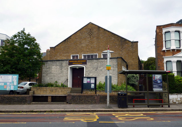 Herne Hill:  Methodist Church Hall