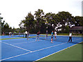 TQ3374 : North Dulwich Tennis Club by Dr Neil Clifton