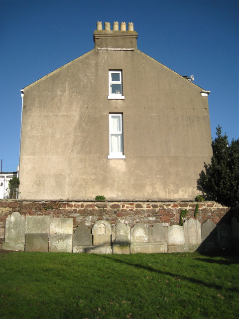 North side of St James's churchyard