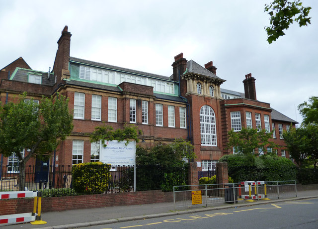 North Dulwich:  James Allen's Girls School